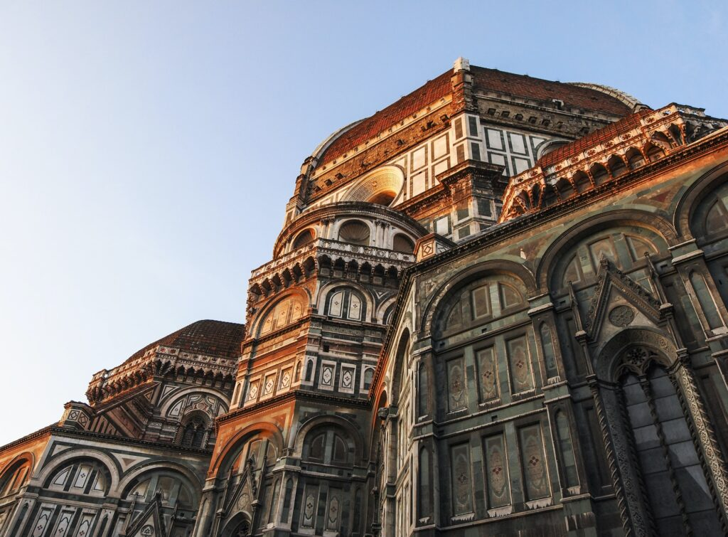 Basilica in Florence, Italy
